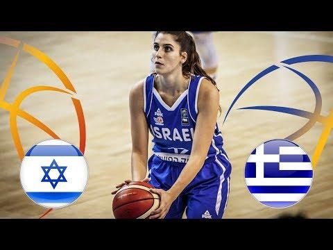 Ισραήλ - Ελλάδα ζωντανή μετάδοση στις 17:15 από την Ρουμανία, για το Ευρωπαϊκό Νέων Γυναικών Β΄ κατηγορίας