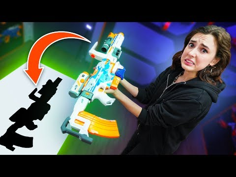 NERF Can You Build It Challenge!
