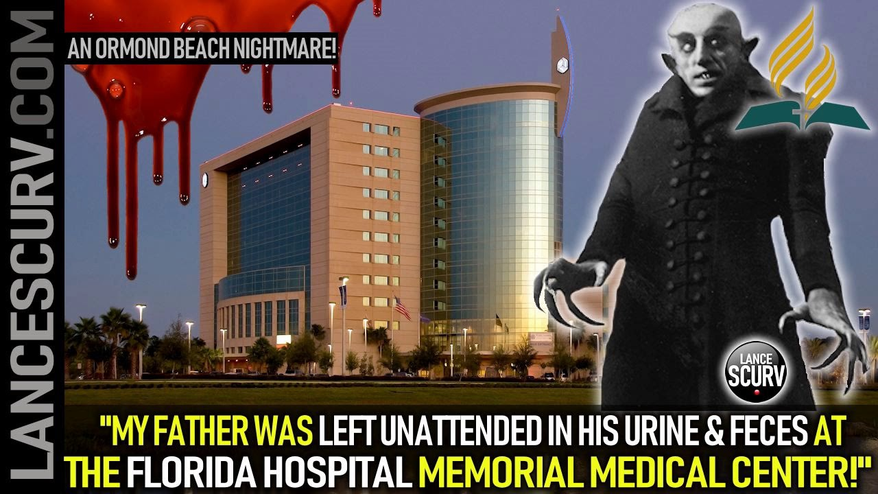 MY FATHER WAS LEFT UNATTENDED IN HIS URINE & FECES AT THE FLORIDA HOSPITAL MEMORIAL MEDICAL CENT