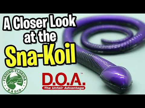 A Closer Look At The DOA Sna-Koil - Bass Fishing Snake Topwater Lure