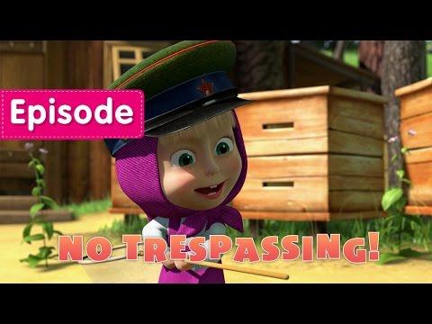 Masha and The Bear - No trespassing (Episode 12)