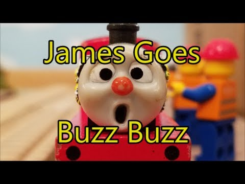 James Goes Buzz Buzz Wooden Remake