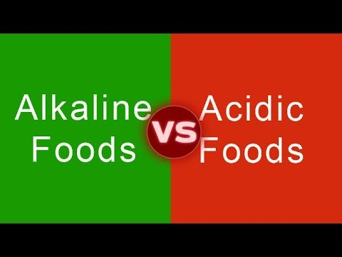 Alkaline vs. Acidic