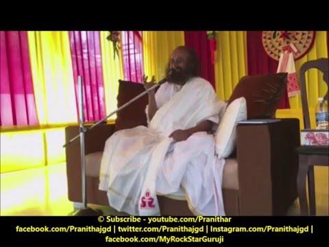 Sri Sri Ravi Shankar Explains about Gayatri Mantra at Guwahati Ashram