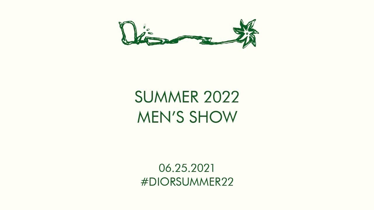 CACTUS JACK FOR DIOR SUMMER 2022 SHOW