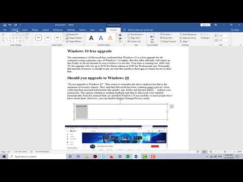 How to Remove Outline of text box in word Office 365 | Microsoft Office