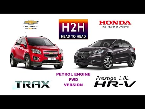 Head2Head #84 Honda HRV vs Chevrolet TRAX