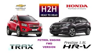 H2H #84 Honda HRV vs Chevrolet TRAX