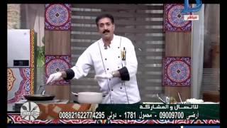 مطبخ دريم  طريقة عمل شيخ المحشي وسلطة البطاطس والمامونية الحلبية مع الشيف السوري عبدالناصر