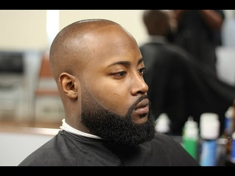 Image result for black guy bald with beard