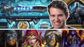 (Hearthstone) Defeating The Lich King: Hunter, Rogue, Paladin, Warlock