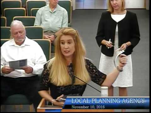 City of Bonita Springs, Local Planning Agency Meeting, Novem