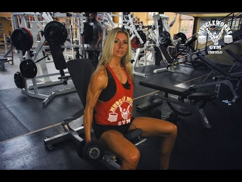 7babbb96e16 Muscleworks Gym Enfield  Personal Trainer Alison Weekes - YouTube