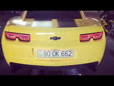 Chevrolet Camaro Transformers 6.2i V8, Performans Egzoz Sesi