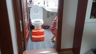 채윤이의 화장실 센서등…