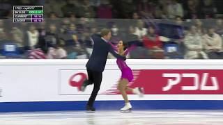 Фигурное катание Финал Гран при 2019 Турин Танцевальные пары Ритм танец Мэдисон Чок и Эван Бэйтс