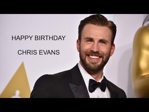 Happy Birthday Chris Evans Shamstore