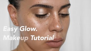 Easy Glowing Makeup   Erica Fae