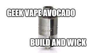 Geek Vape Avocado: Build and Wick
