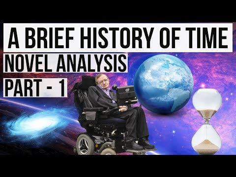 English Novel - A brief History of Time by Stephen Hawking Part 1 Complete analysis in Hindi