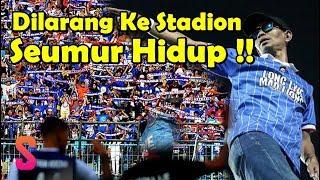 Dilarang Masuk Stadion Seumur Hidup, 5 Fakta Yuli Sumpil Pentolan Aremania