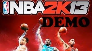 NBA 2k13 Demo | Mi primer partido ONLINE | Gameplay | Xbox 360