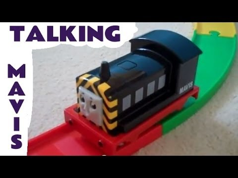 My First Thomas The Tank Engine Talking Mavis By Thomas Friends Golden Bear Kids Toy Train Set
