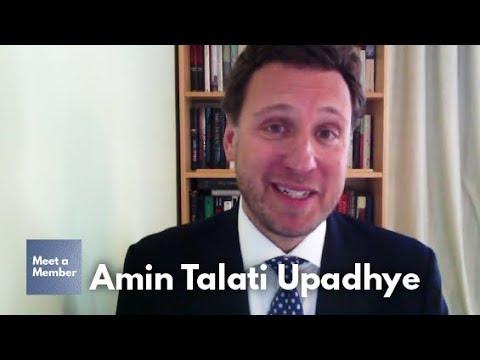 Meet Amin Talati Upadhye