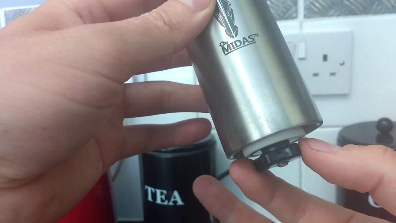 Coffee Burr grinder review , Midas burr grinder review ...