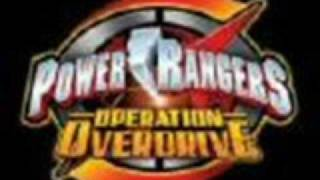 POWER RANGERS OPERATION OVERDRIVE THEME SONG WITH LYRICS