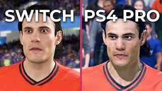 FIFA 20 – Switch vs PS4 Pro Graphics Comparison