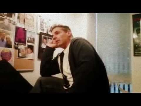 Behind The Scenes of The Scott Ferrall Show - Sour Shoes imitates Ferrall & Gary Dell'abate
