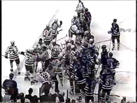 hot sales 1993c 965be New York Rangers vs New Jersey Devils Bench Clearing Brawl 1992 Adam Graves  vs Claude Lemieux