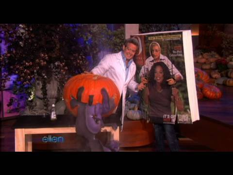 Steve Spangler on The Ellen Show October 2009