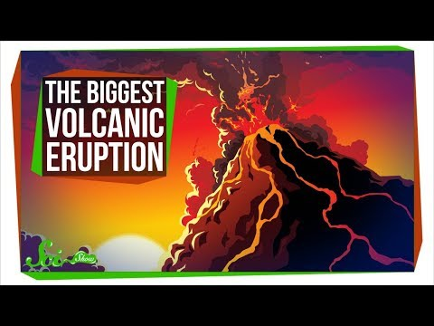 The Biggest Volcanic Eruption in Human History