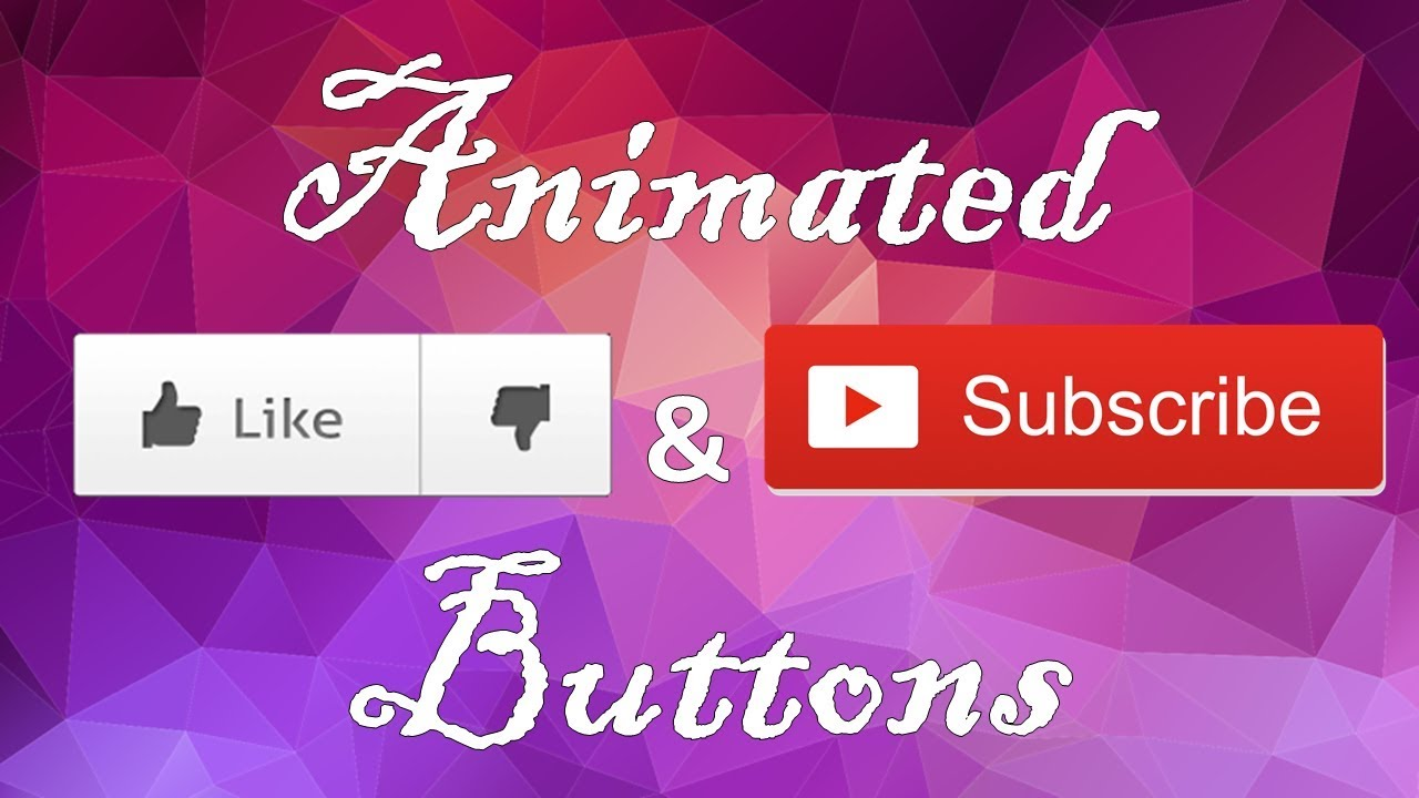 FREE!!! Animated Like and Subscribe Button with sound effects Green Screen  Lower Third