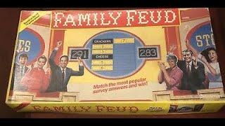 Family Feud Pressman Board Game Showdown