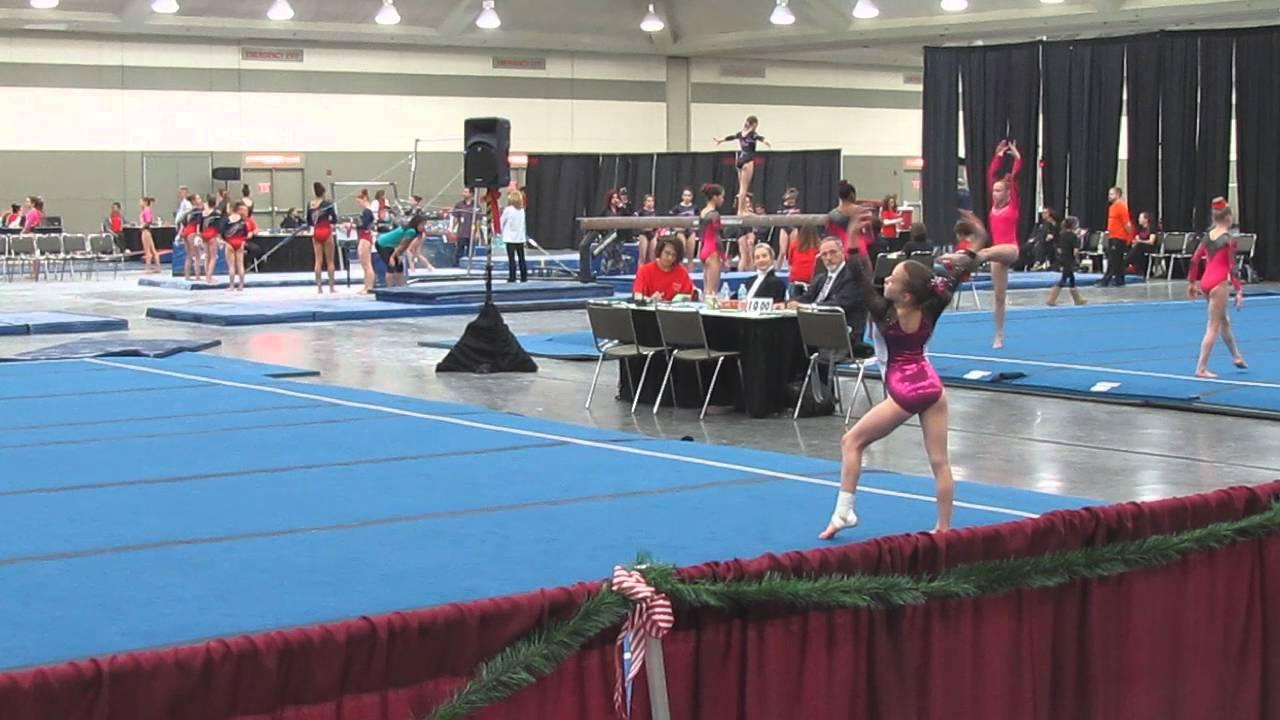christmas on the chesapeake gymnastics meet 2011