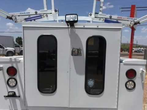 2012 Ford F-250 Enclosed Service Utility Body with ladder Rack (Mesa, Arizona)