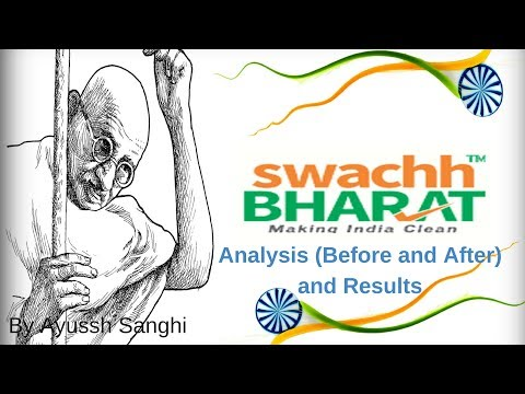 Swachh Bharat Abhiyan - Analysis (Before and After) and Results by Ayussh Sanghi