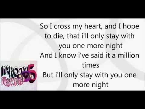 Maroon 5-One more night (Plus Download)