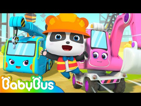 Architect and Construction Vehicles | Jobs Song | Pretend Play | Nursery Rhymes | BabyBus