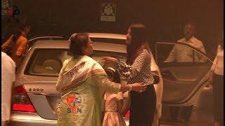 Aishwarya Rai Bachchan With Her Mother and Daughter Aaradhya At Yautacha