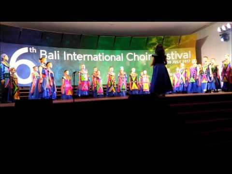 "Nation Star Children Choir (NSCC) Performing ""Bonse Aba"" @Champion Round 6th BICF"