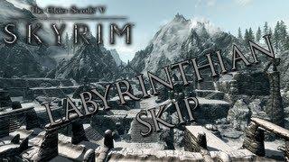 TESV: Skyrim - How To Skip Labyrinthian