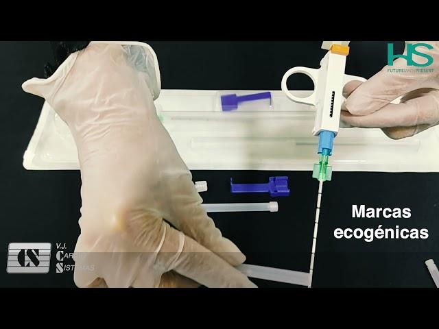 Despliegue Aguja para Biopsia Trucut Mobile