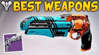 Destiny: BEST VENDOR WEAPONS! Must Buy God Roll Guns - Crucible, Vanguard & Factions (Rise of Iron)
