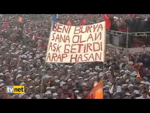 Biz Kisik Sesleriz. Recep Tayyip Erdogan