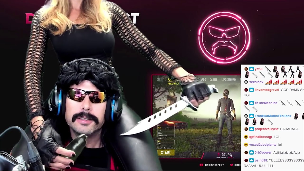 DrDisrespect Being Fed by his Wife (aka Mrs  Assassin monkaS) by Streaming  & Beyond