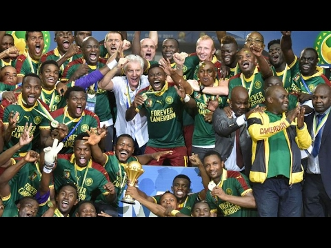 Goals 2017 Africa Nations Cup Champion Cameroun 2-1 against Egypt